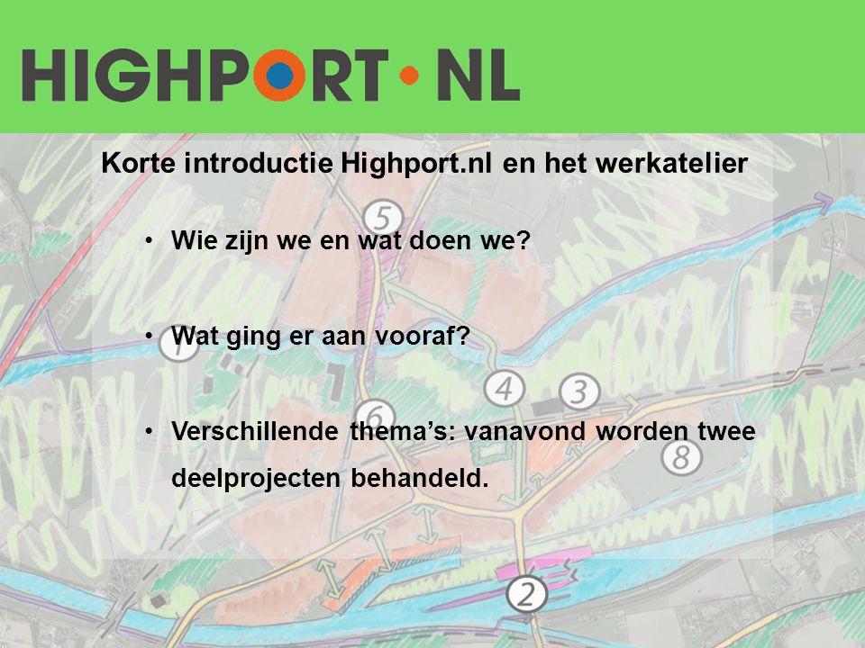 Korte introductie Highport.nl en het werkatelier