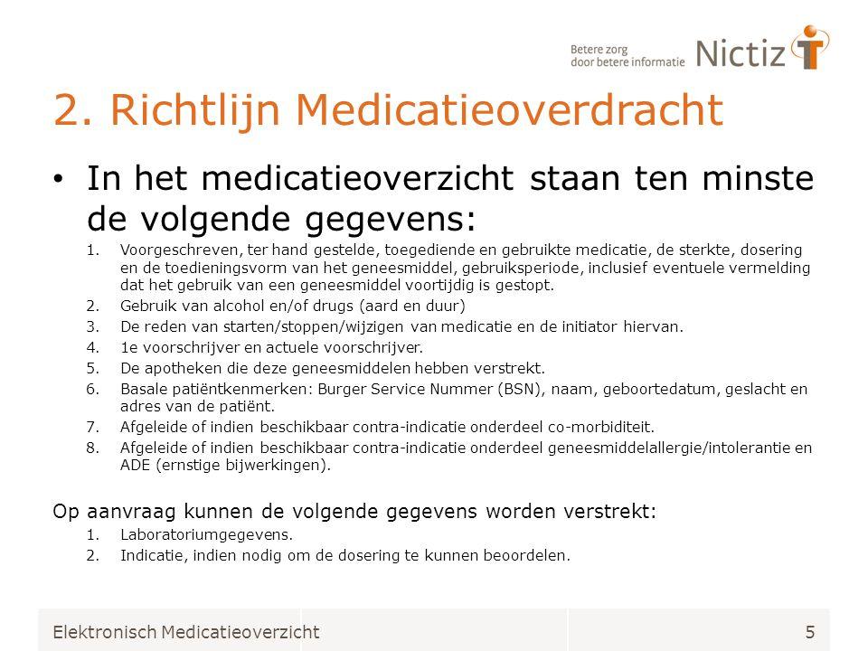 2. Richtlijn Medicatieoverdracht