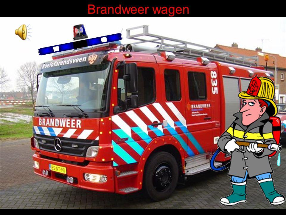 Brandweer wagen