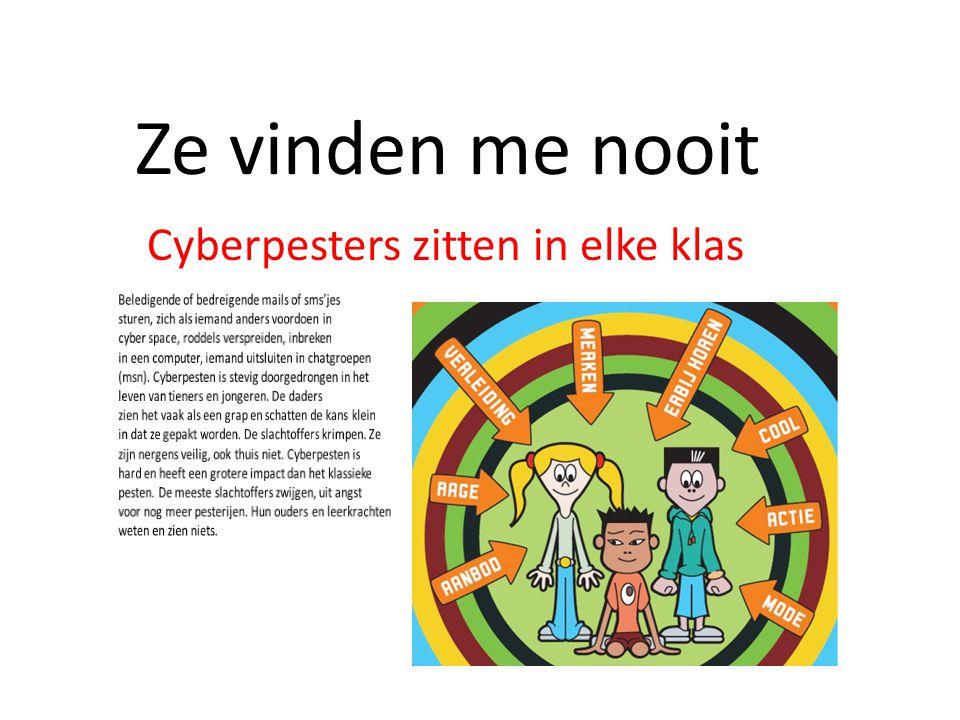 Cyberpesters zitten in elke klas