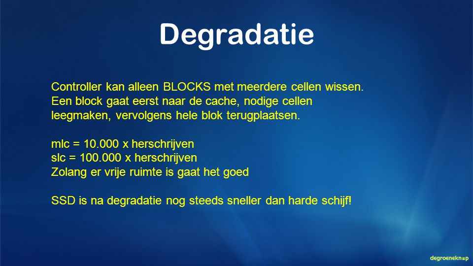 Degradatie