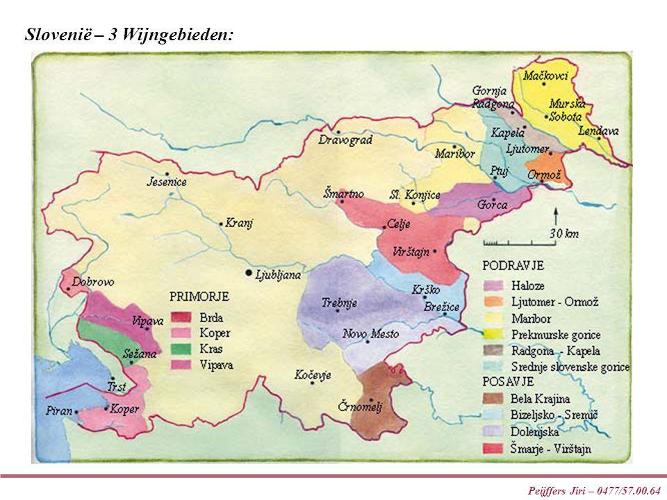 Slovenië – 3 Wijngebieden: