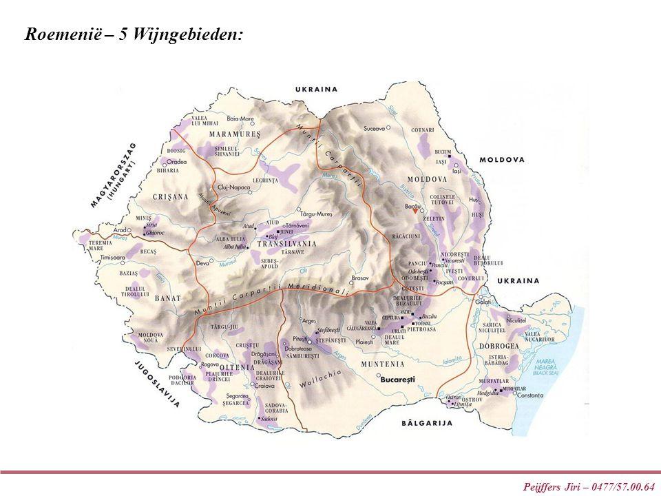 Roemenië – 5 Wijngebieden: