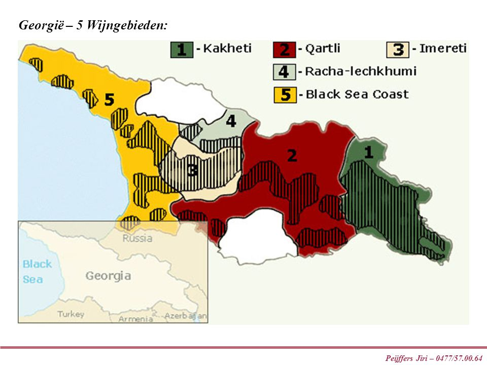 Georgië – 5 Wijngebieden: