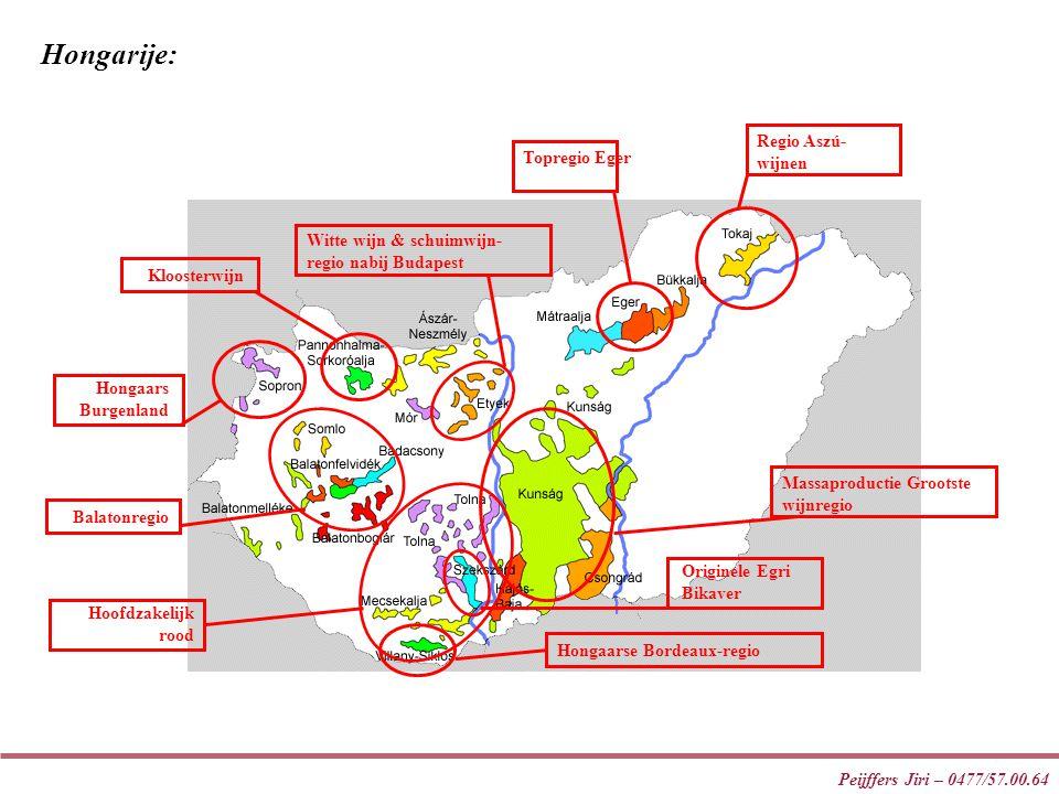 Hongarije: Regio Aszú-wijnen Topregio Eger