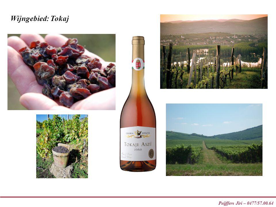 Wijngebied: Tokaj Peijffers Jiri – 0477/57.00.64