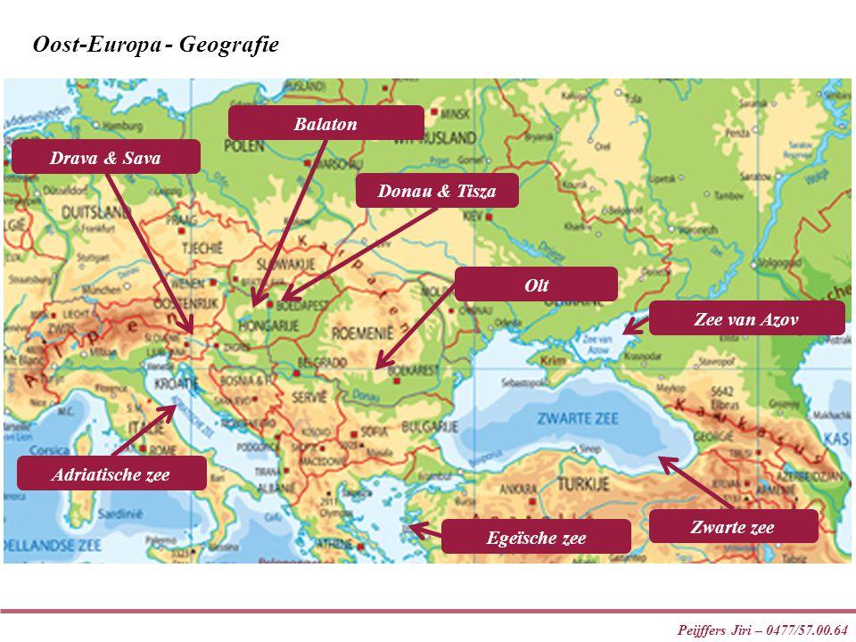 Oost-Europa - Geografie