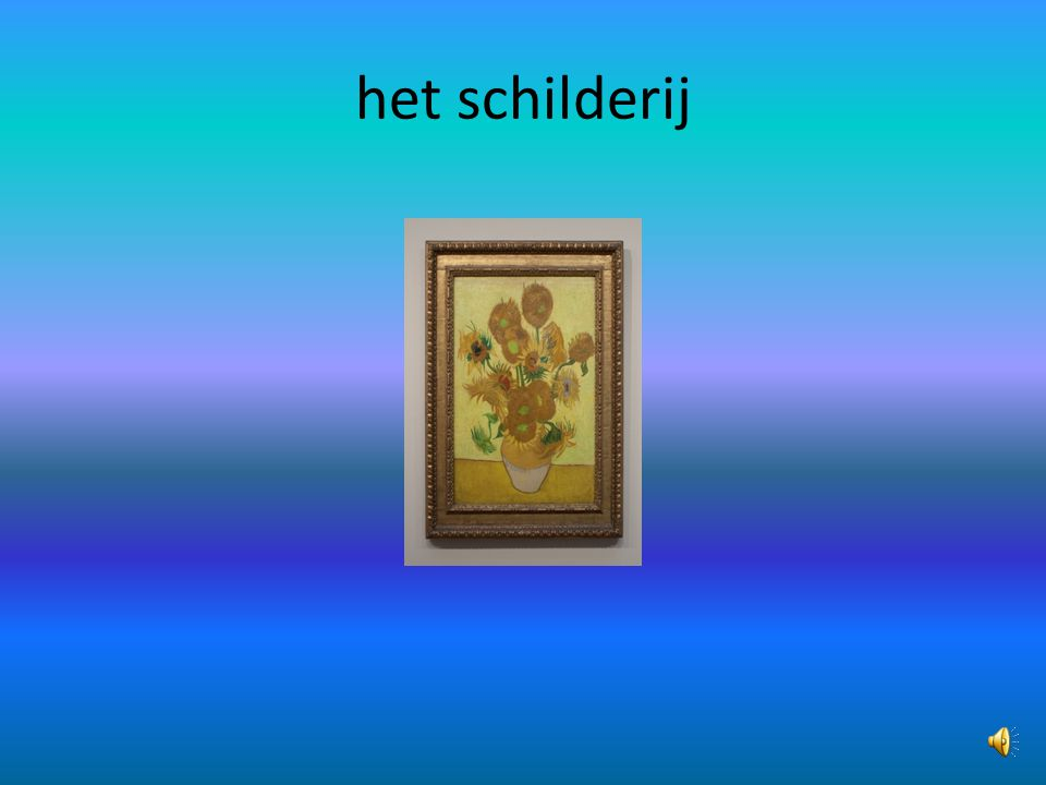 het schilderij