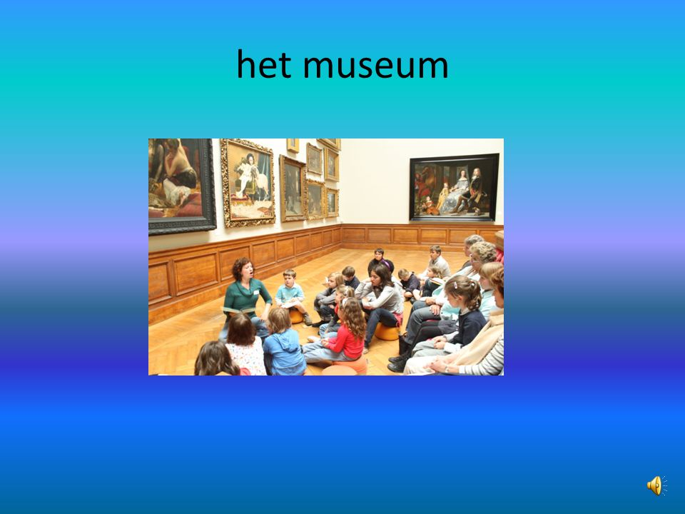 het museum