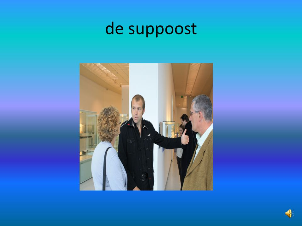 de suppoost