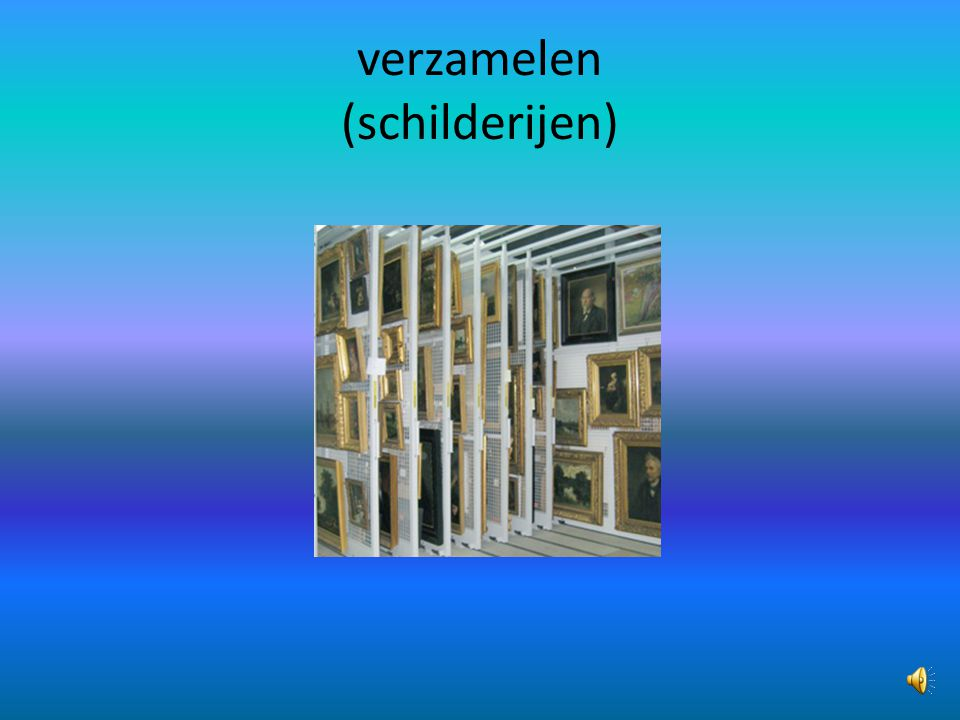 verzamelen (schilderijen)
