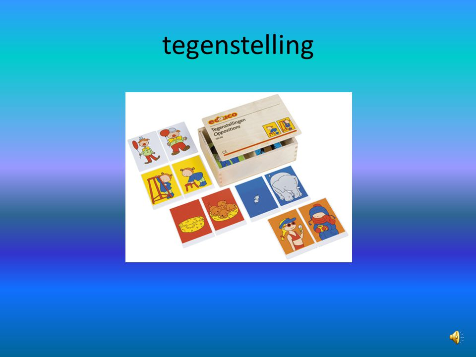 tegenstelling