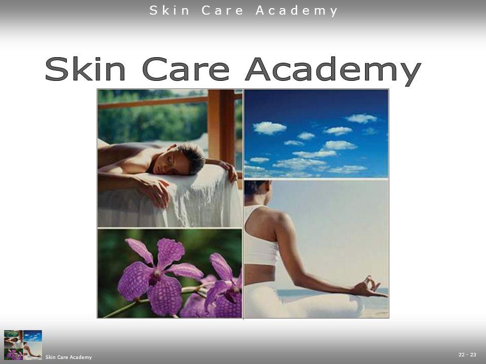 Skin Care Academy S k i n C a r e A c a d e m y 22 - 23