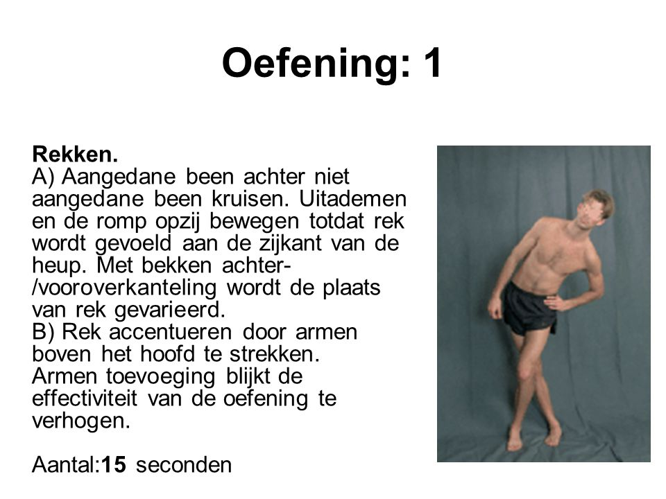 Oefening: 1