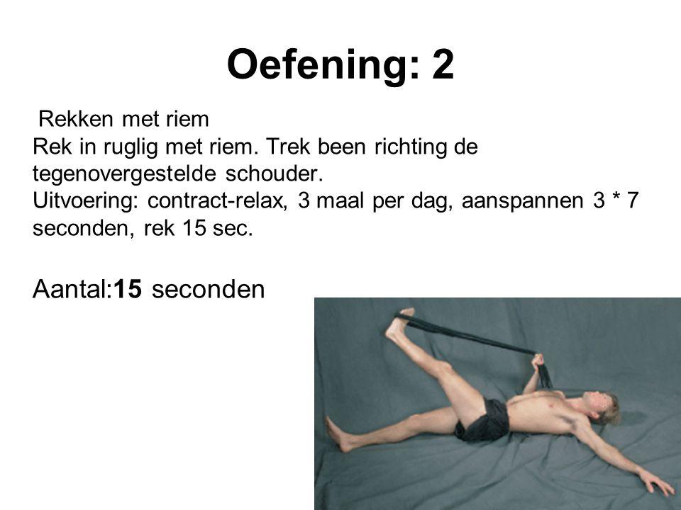 Oefening: 2
