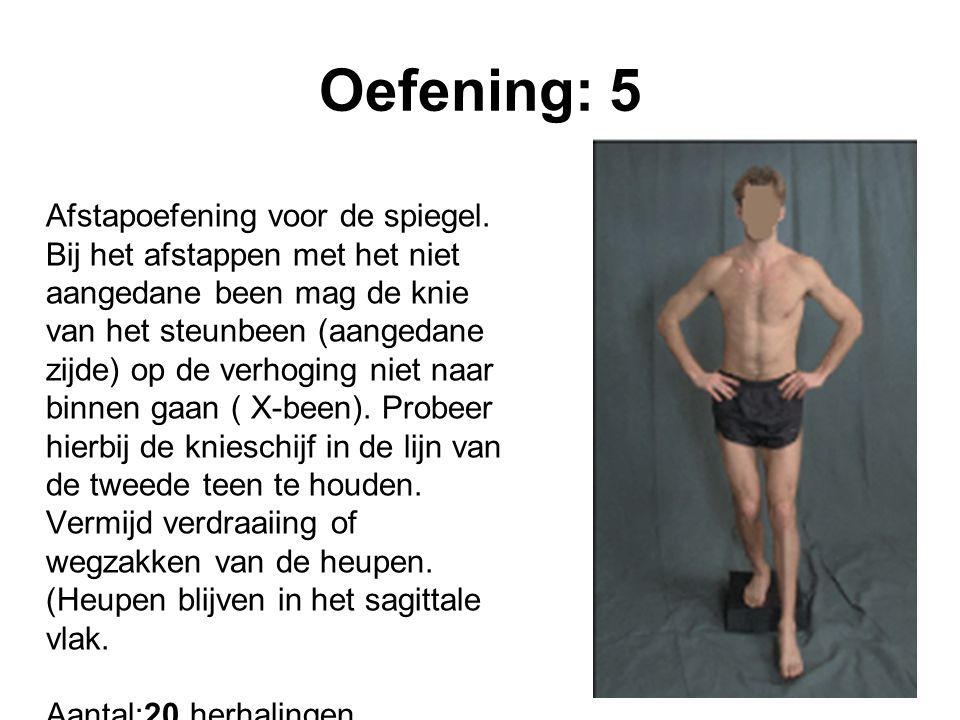 Oefening: 5