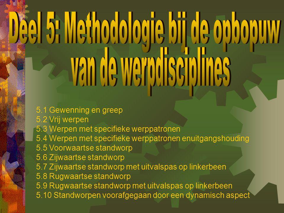 Deel 5: Methodologie bij de opbopuw