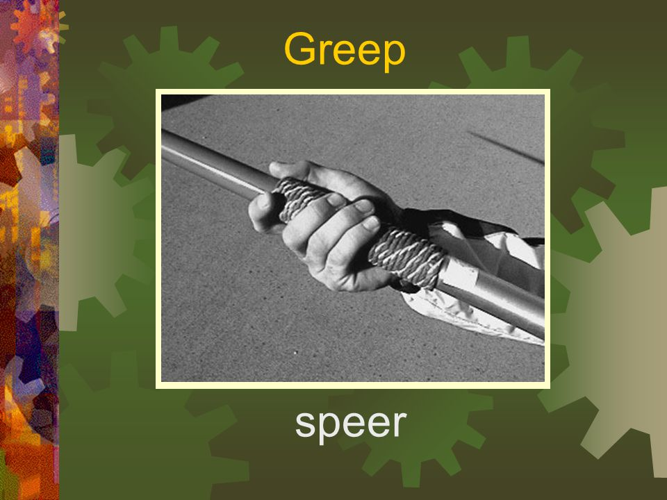 Greep speer