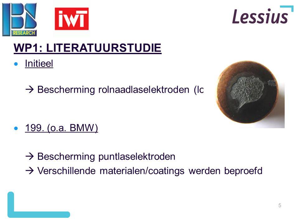 WP1: LITERATUURSTUDIE Initieel