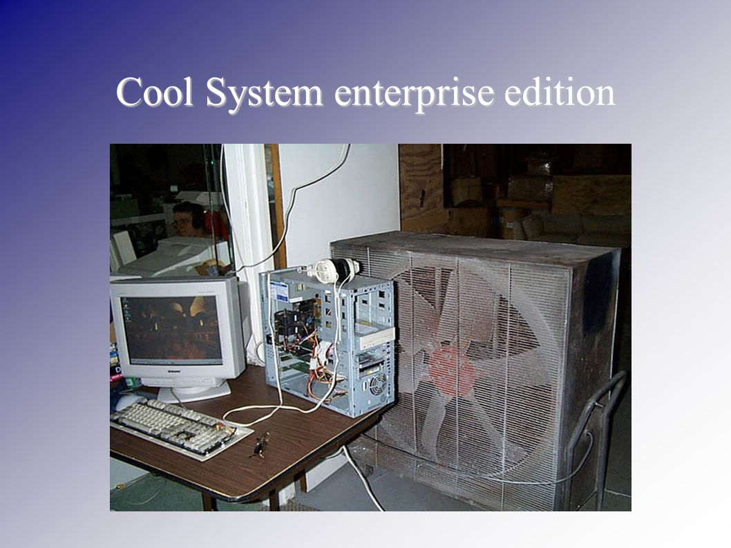 Cool System enterprise edition