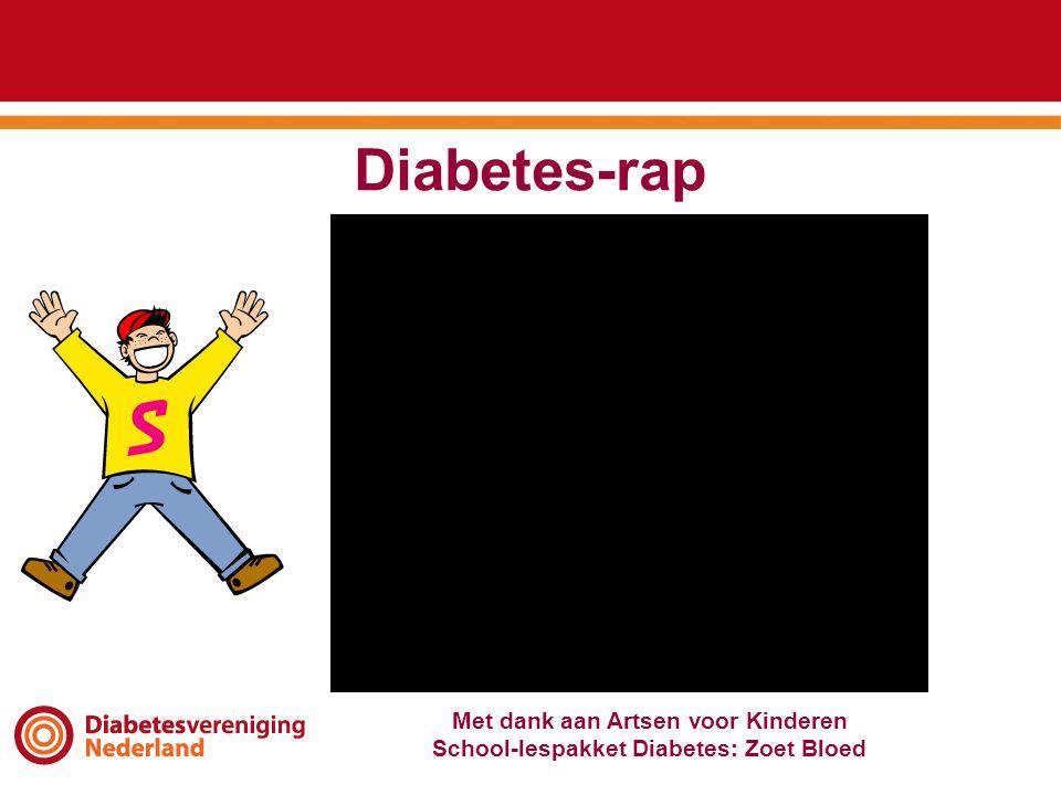 Diabetes-rap Met dank aan Artsen voor Kinderen