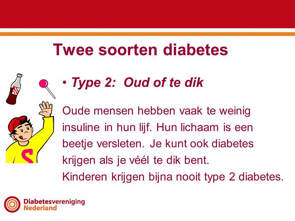 Twee soorten diabetes Type 2: Oud of te dik