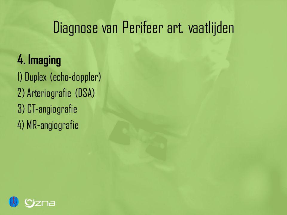 Diagnose van Perifeer art. vaatlijden