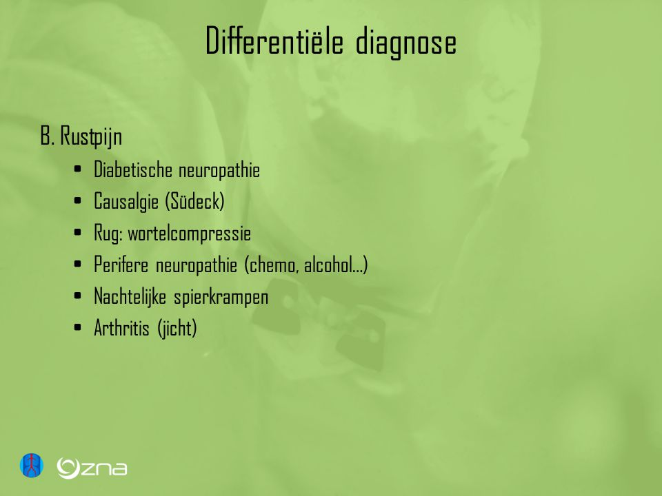 Differentiële diagnose