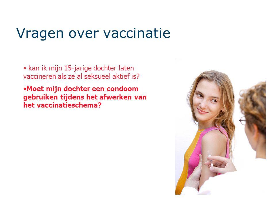 Vragen over vaccinatie