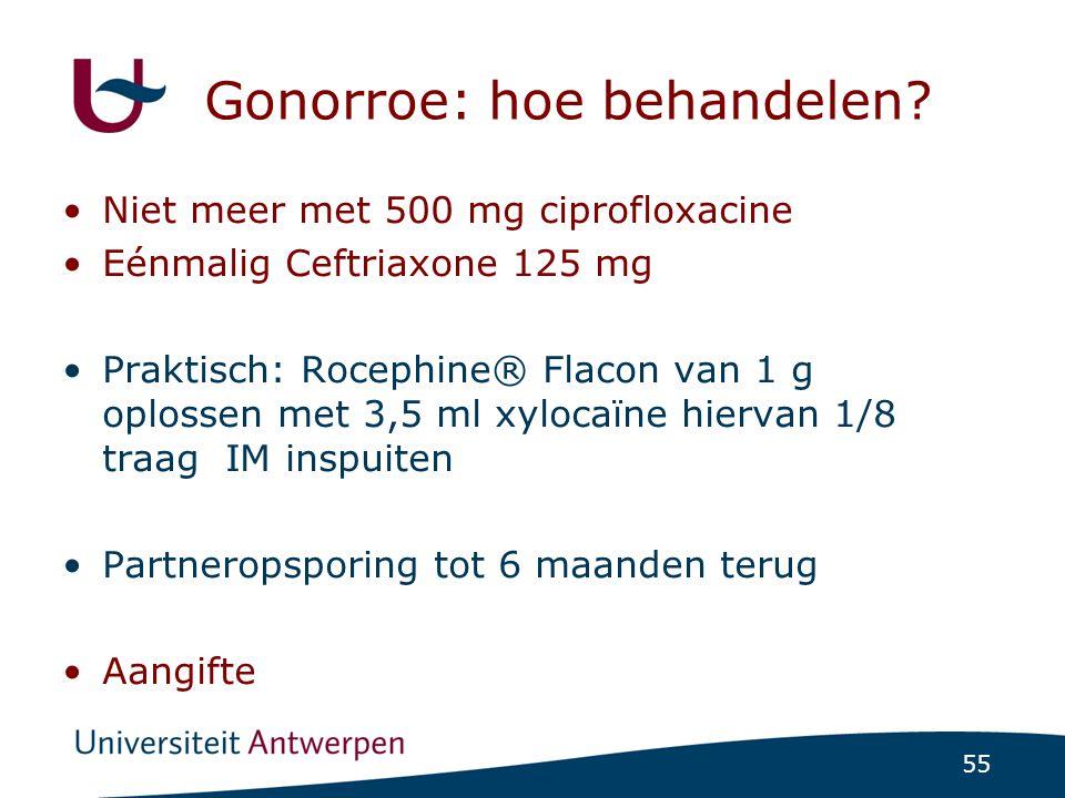 Gonorroe: hoe behandelen
