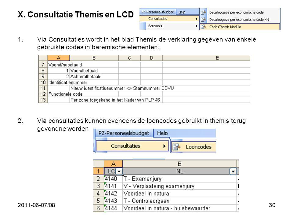 X. Consultatie Themis en LCD