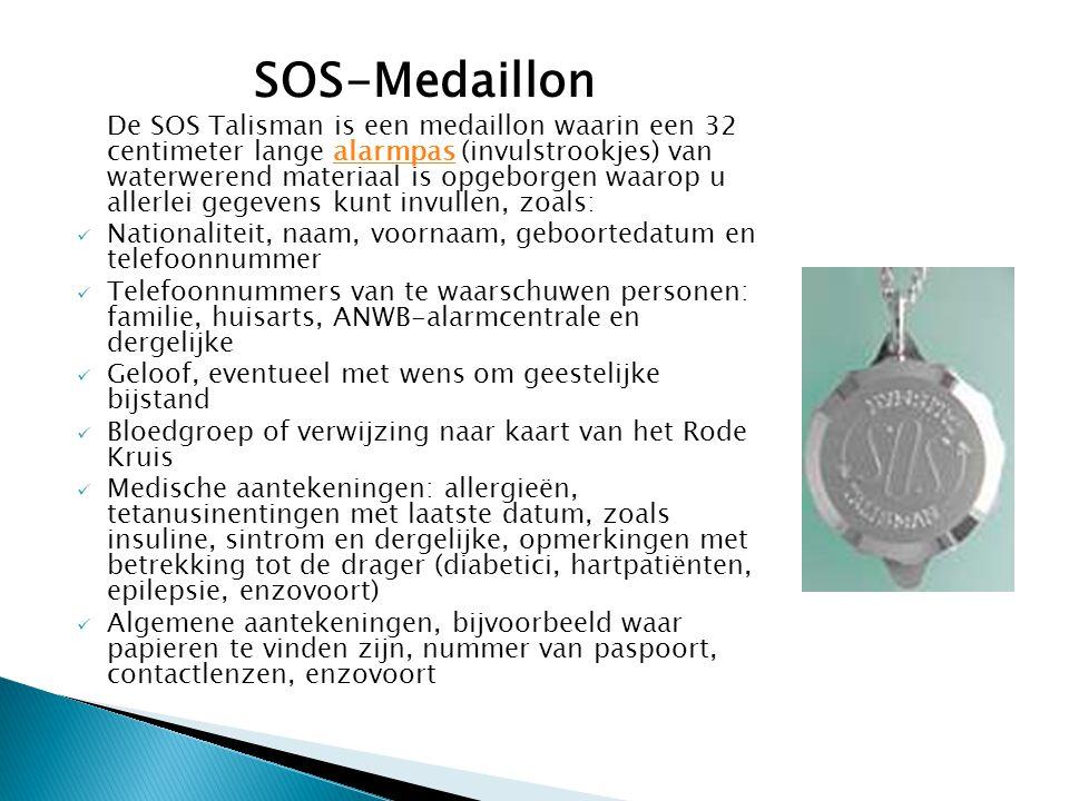 SOS-Medaillon