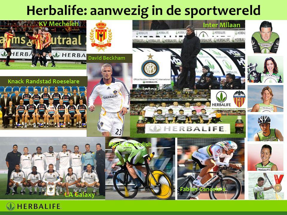 Herbalife: aanwezig in de sportwereld Knack Randstad Roeselare
