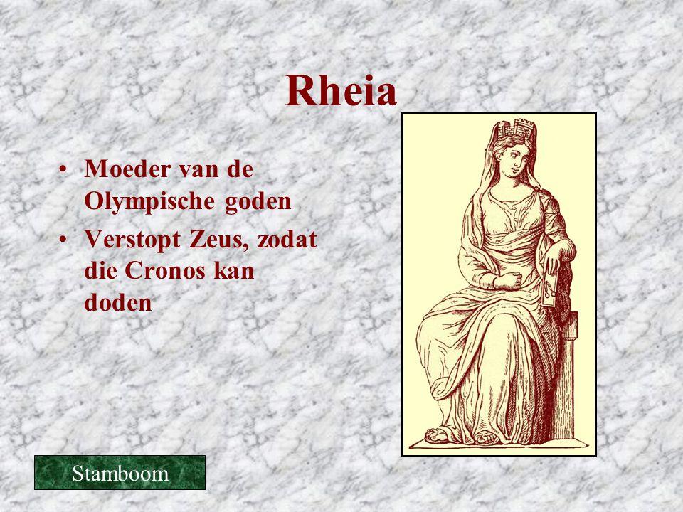 Rheia Moeder van de Olympische goden