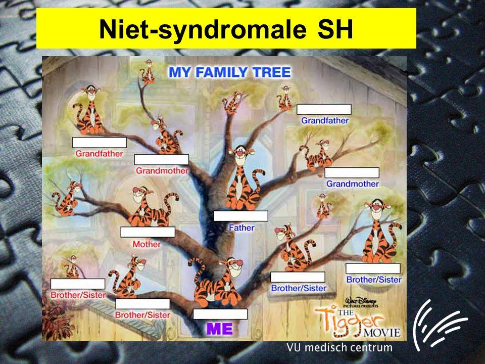 Niet-syndromale SH