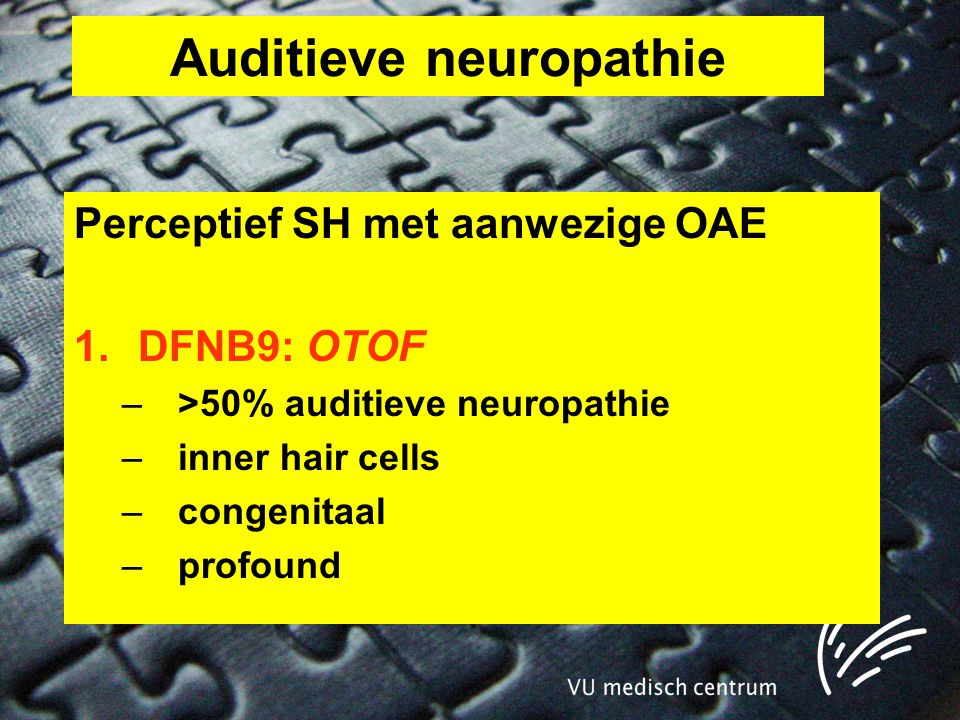Auditieve neuropathie