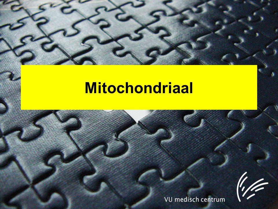 Mitochondriaal