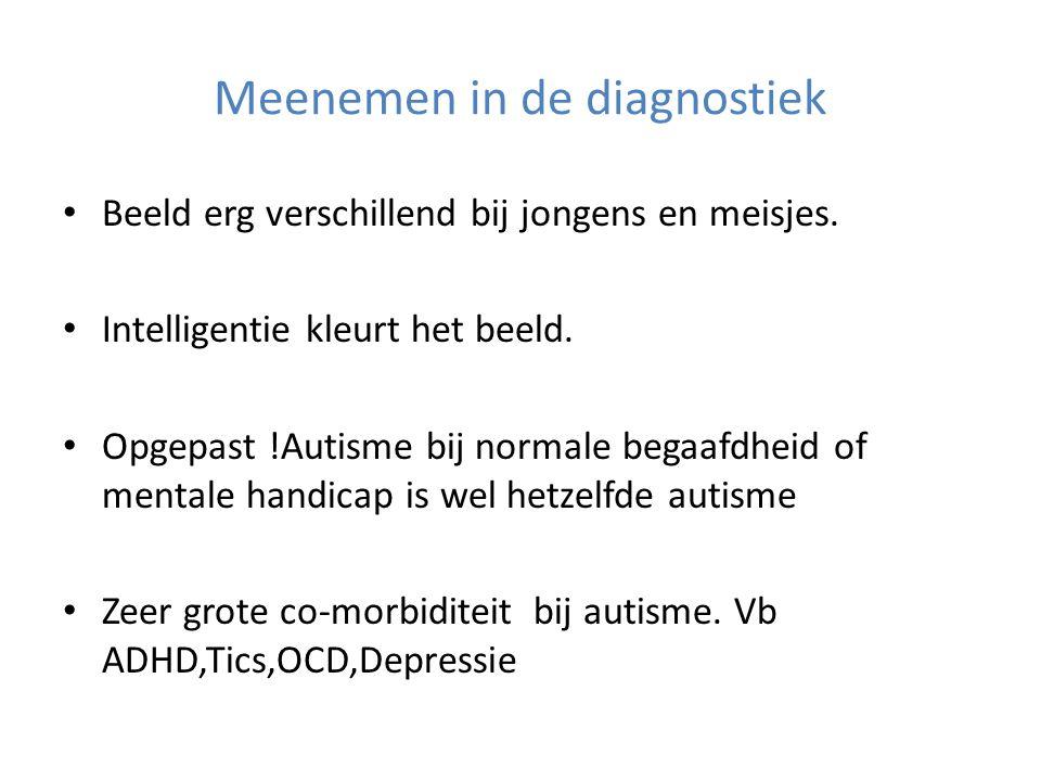Meenemen in de diagnostiek