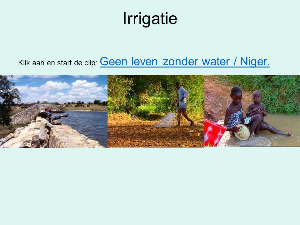 Irrigatie Klik aan en start de clip: Geen leven zonder water / Niger.