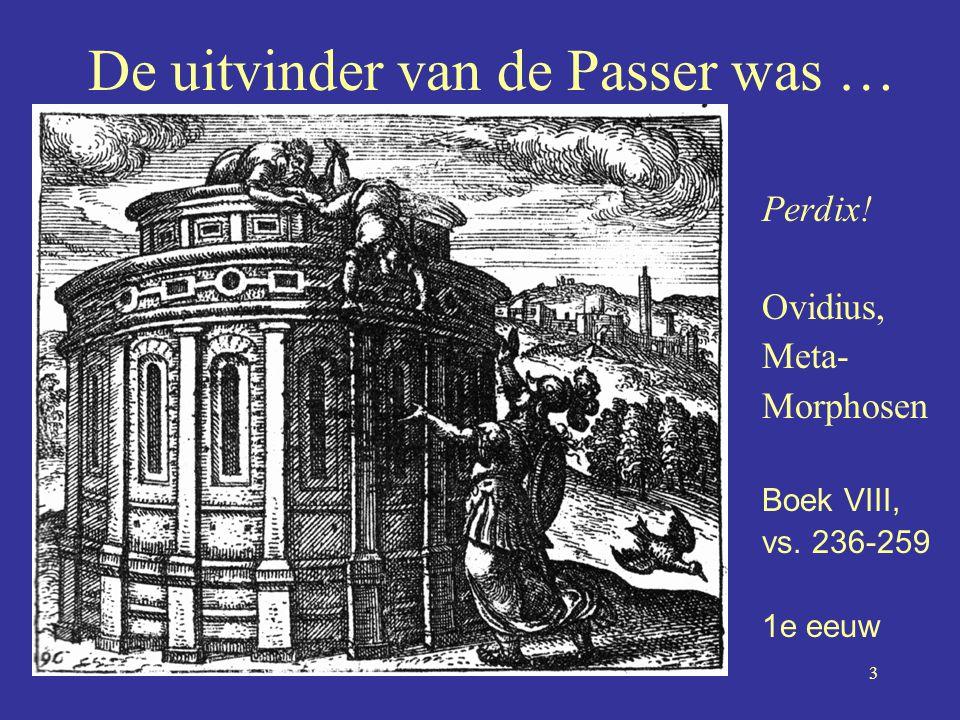 De uitvinder van de Passer was …
