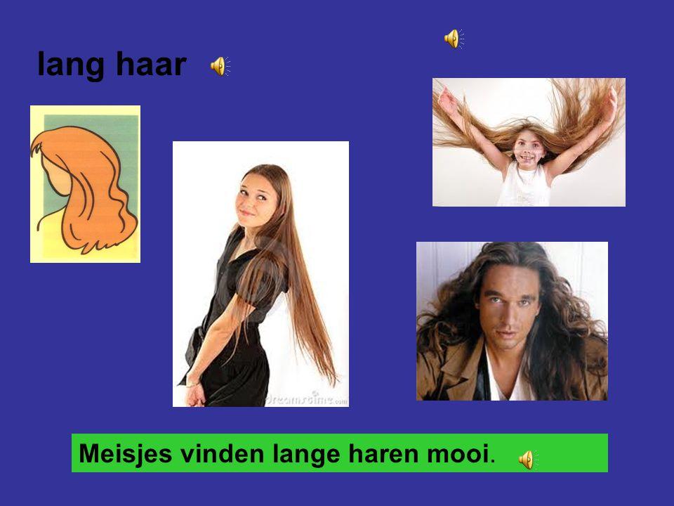 lang haar Meisjes vinden lange haren mooi.