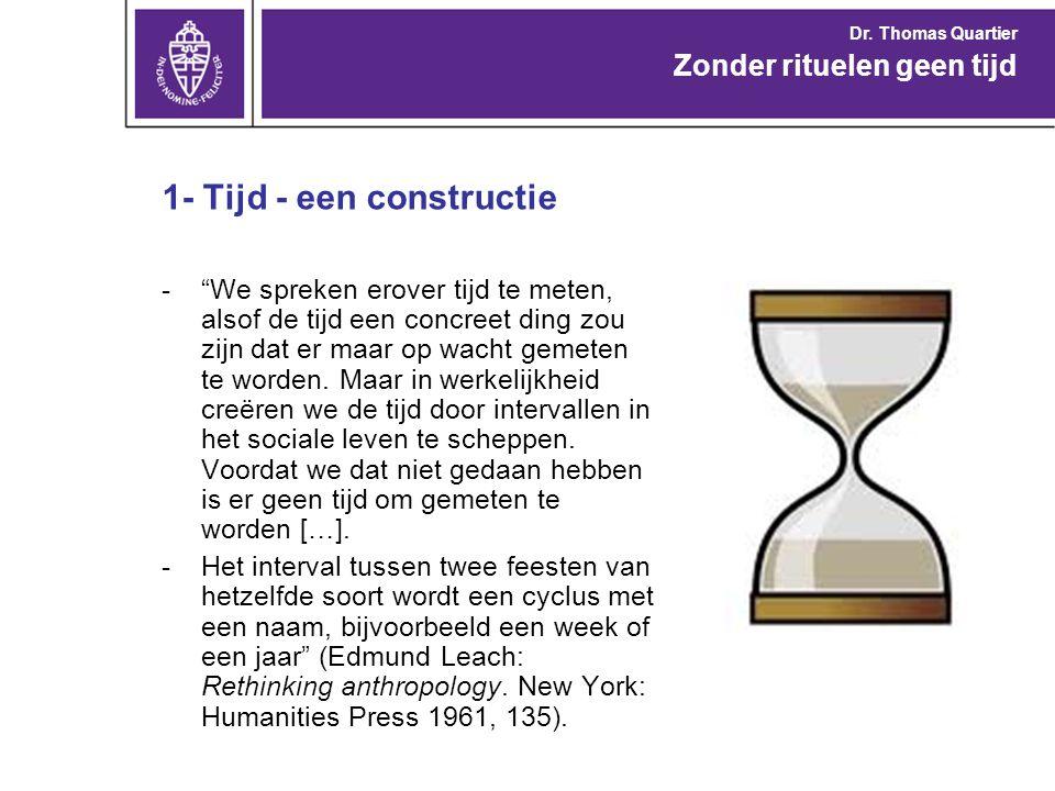 1- Tijd - een constructie