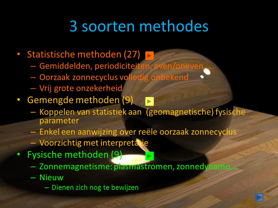 3 soorten methodes Statistische methoden (27) Gemengde methoden (9)