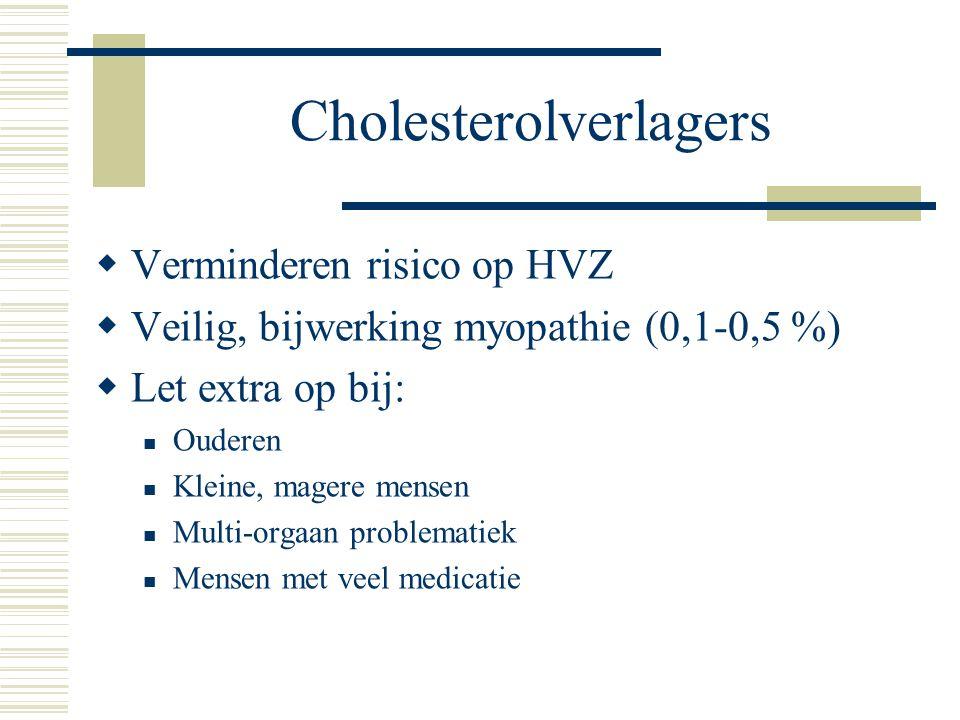 Cholesterolverlagers