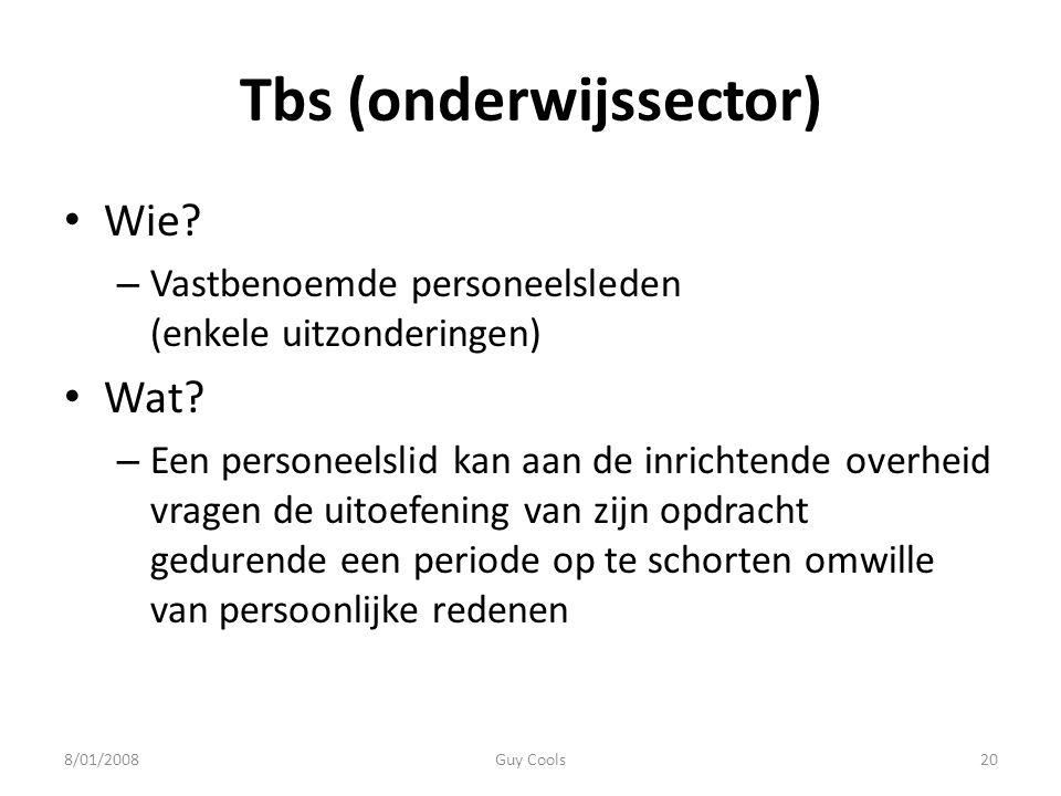 Tbs (onderwijssector)