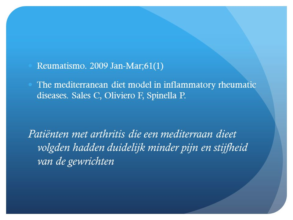 Reumatismo. 2009 Jan-Mar;61(1)