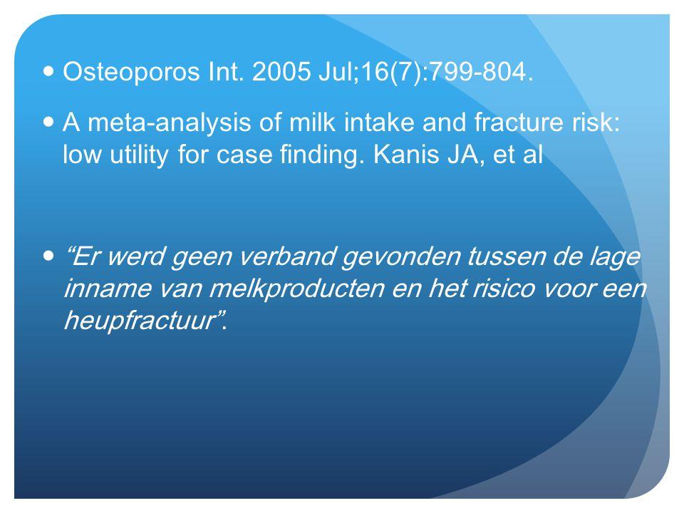 Osteoporos Int. 2005 Jul;16(7):799-804.
