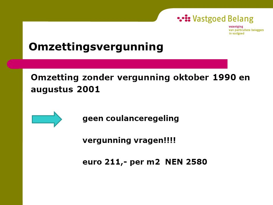 Omzettingsvergunning
