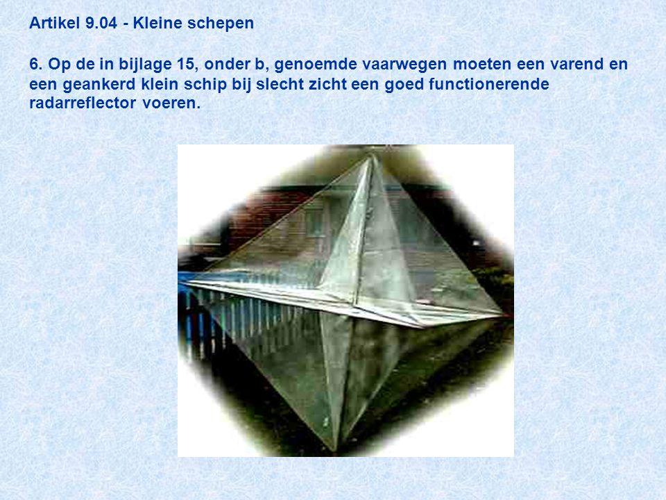 Artikel 9. 04 - Kleine schepen 6