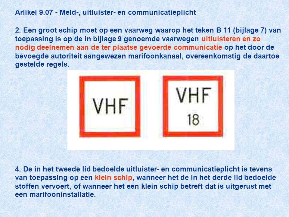 Arlikel 9. 07 - Meld-, uitluister- en communicatieplicht 2
